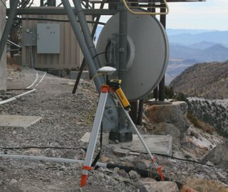 Trimble PRO-XRT System On Mountain Top